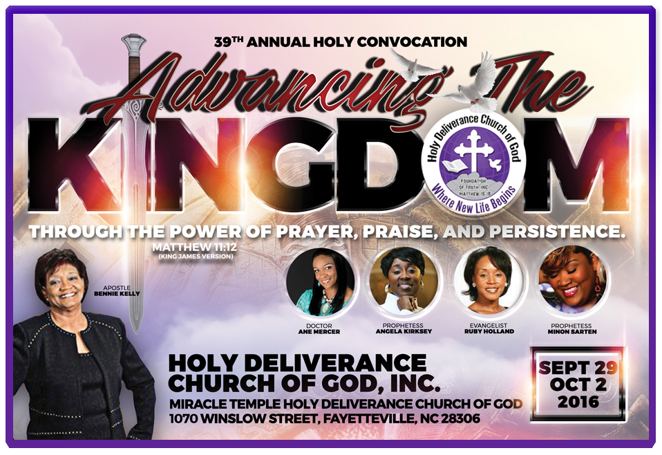 39TH ANNUAL HOLY CONVOCATION