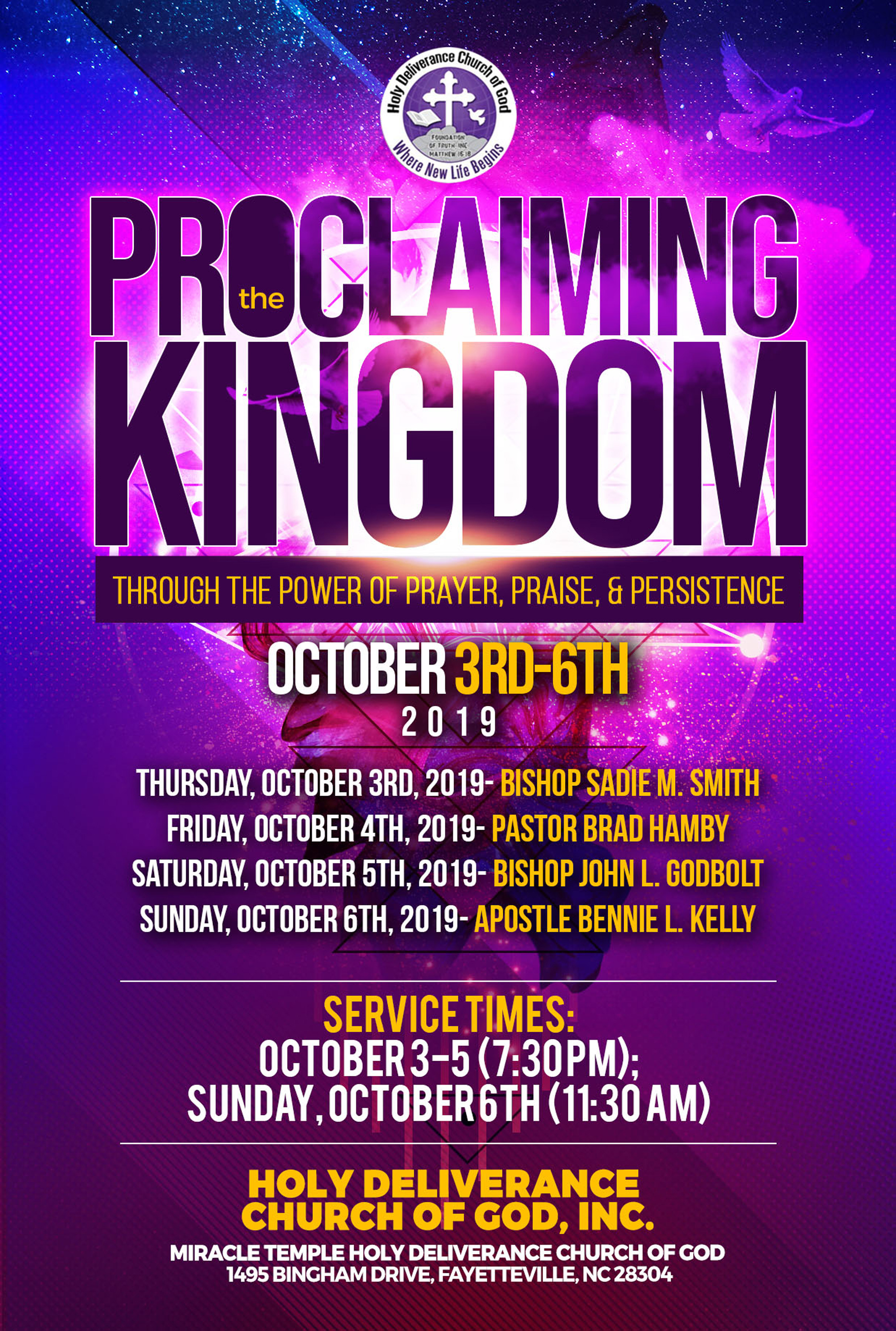 HDCOGI presents the 42nd Annual Holy Convocation