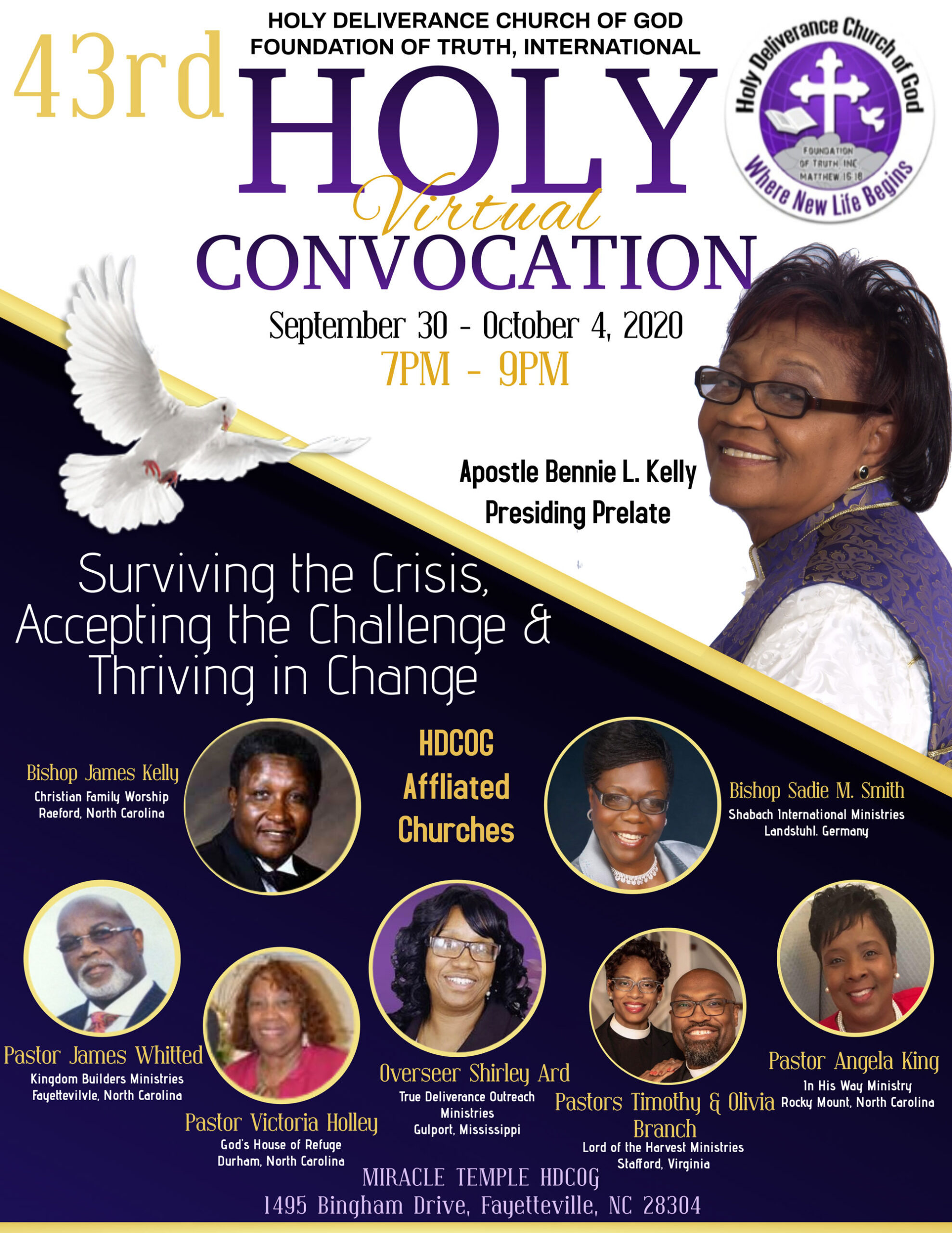 Holy Convocation 2020 Flyer